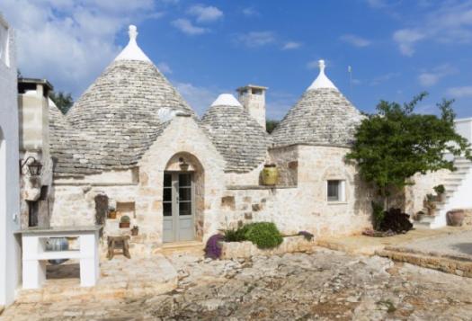 Trullis, maisons traditionnelles