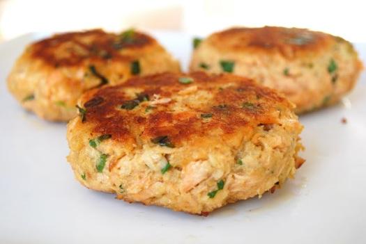 galette de saumon